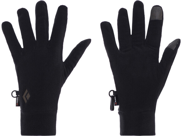 Black Diamond LightWeight Fleece Gloves black